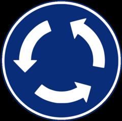 ラウンド標識