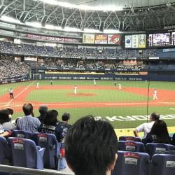 ひさびさプロ野球観戦!!!