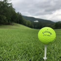 ゴルフは自分との勝負かな