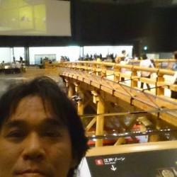 江戸東京博物館に初めて行ってました(^O^)/